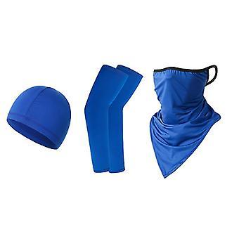Fietspak driehoek zonnebrandcrème arm cuff buitensporten