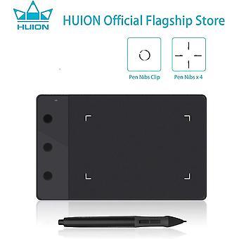 FengChun OSU Grafiktablett 4 x 2,23 Zoll Tragbarer Stylus Zeichnung Stift Tablet (H420) Grafiktablett