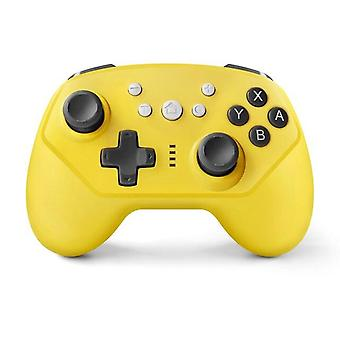 5 in 1 For Nintend Switch Pro Controller / Switch Lite Console Joystick Gamepad(yellow)