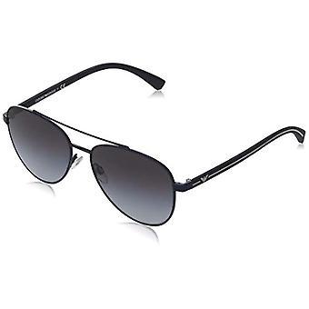 Ray-Ban 0EA2079 Sonnenbrille, Grau (Matte Blue), 58 Herren