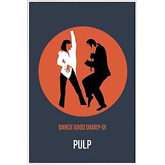 JUNIQE Print - Daddy-O Poster 2 - Plakat filmowy w kolorze niebieskim & pomarańczowym