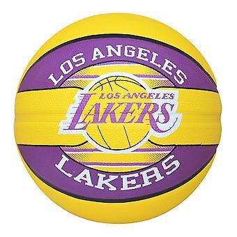 LA Lakers Spalding NBA Basketball