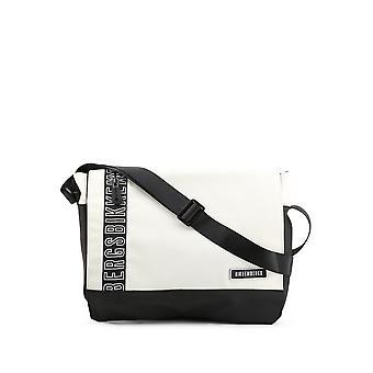 Bikkembergs - Bags - Briefcases - E2APME170052010-White - Men - white,black