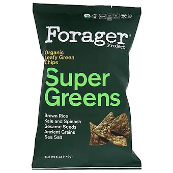 Forager Veggie Chips Greens, Case of 12 X 5 Oz