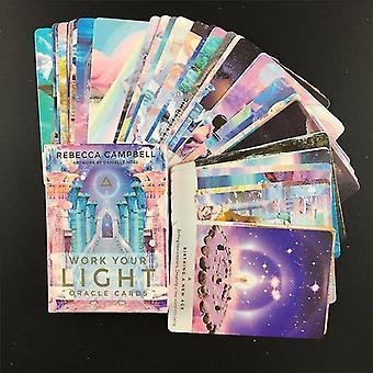 new 44pcs ts04 english version tarot angel therapy oracle tarot cards sm37515