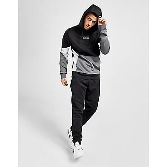 New STATUS Men's Kimber Poly Tracksuit from JD Outlet Black