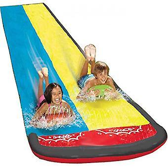 Wasserrutsche, Sommer spielzeug mit eingebauten Sprinkler (doppelte Größe)