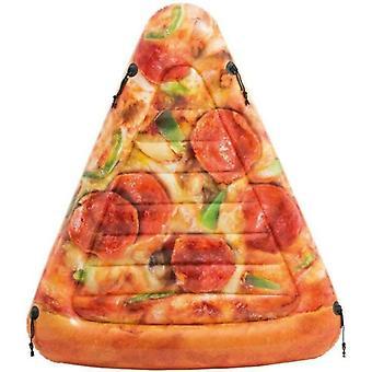 Intex Inflatable Sliced Pizza Mat Lilo Pool Float Mat 175cm x 145cm 58752