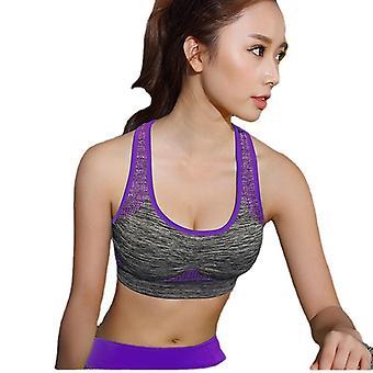 اليوغا حمالة الصدر دفع ما يصل الصالة الرياضية تشغيل حمالة الصدر تجريب سلس اللياقة البدنية أعلى
