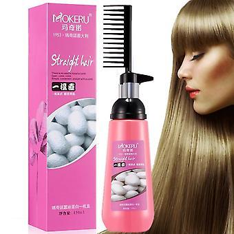 Гладкое выпрямляние волос, Питательный, Прямой крем для женщин, Уход за волосами