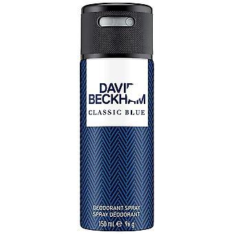 David beckham klassisk blå deodorant spray 150ml