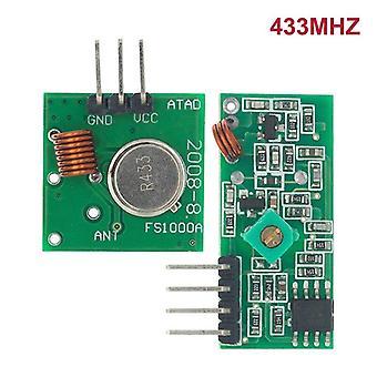 315Mhz 433mhz rf wireless transmitter module and receiver kit 5v dc 433mhz wireless for arduino raspberry pi /arm/mcu wl diy kit