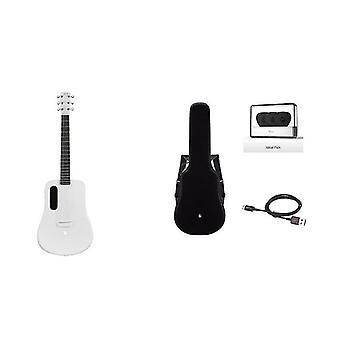Lava Me 2 Carbon Fiber Guitar Com Efeitos Acústico Electric Travel Guitar