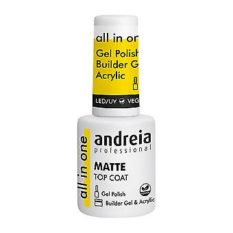 Vernis à ongles Andreia All In One Matte Top Coat (10,5 ml)