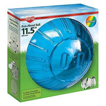 """Kaytee Run-About Ball - Rainbow - Giant (11.5"""" Diameter)"""