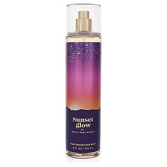 Bath & body works sunset glow body mist by bath & body works 557497 240 ml