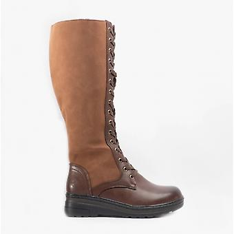 Heavenly Feet Colorado Ladies Tall Boots Brown
