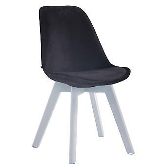 Esszimmerstuhl - Esszimmerstühle - Küchenstuhl - Esszimmerstuhl - Modern - Schwarz - Holz - 48 cm x 55 cm x 84 cm
