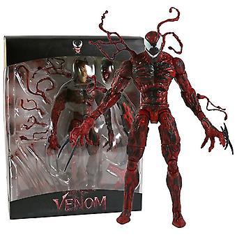 """Gift: La det være Carnage Cletus Kasady 7"""" Action Figure Collection"""