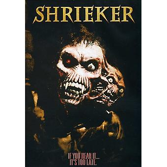 Shrieker [DVD] USA import