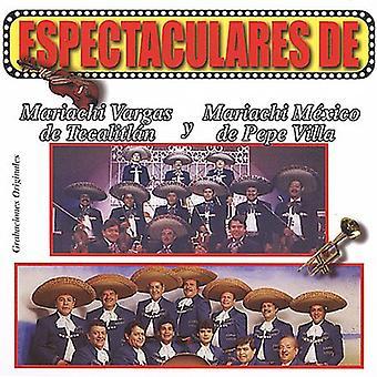 Mariachi Vargas De Tecalitlan/Mariachi Mexico De P - Espectaculares De Mariachi Vargas De Tecalitlan Y [CD] USA import
