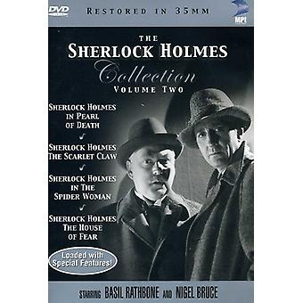Sherlock Holmes Collection: Volume Two [DVD] USA import