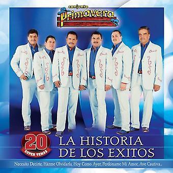 Conjunto Primavera - La Historia De Los E [CD] USA import