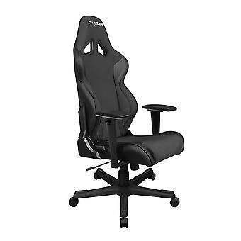 DX Racer DXRacer OH/RW106/N High-Back X Rocker Gaming Chair Strong Mesh+PU(Black)