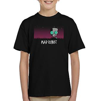 Mad Robot Gir Invader Zim Kid's T-Shirt