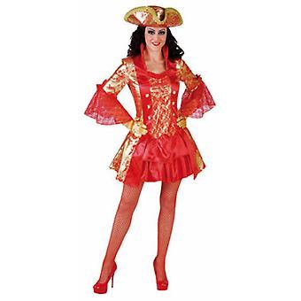 Vrouwen kostuums vrouwen Sexy markiezin rood