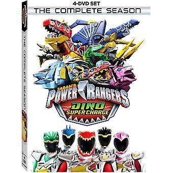 Power Rangers Dino Super Charge komplett säsong [DVD] USA import