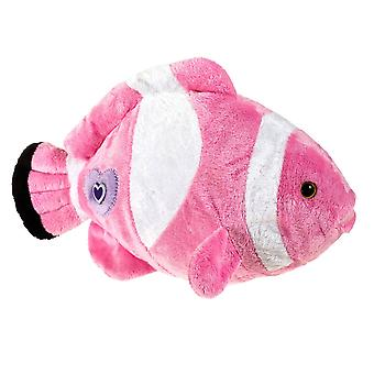 لعبة لينة Clownfish الوردي الفاخرة العالم بيتيس 30 سم