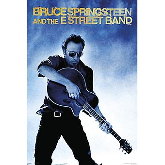 Bruce Springsteen and the E Street Band - Guitar Poster Poster Print