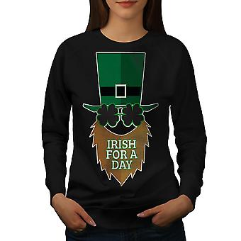 Ирландский для BlackSweatshirt женщин день | Wellcoda
