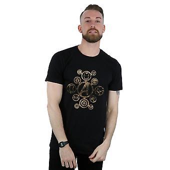 מארוול גברים ' s הנוקמים מלחמת אינסוף סמלים חולצת טי