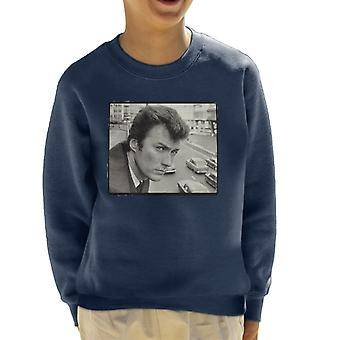 Clint Eastwood Smallbrook Queensway 1967 Kid's Sweatshirt