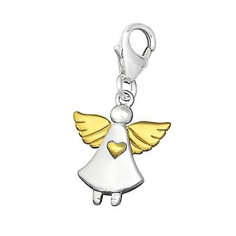 Angle - 925 Sterling Silver Charms with Lobster - W29869X