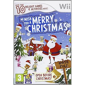 We Wish You A Merry Christmas (Wii) - New