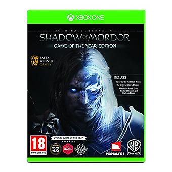 Middle-Earth Shadow of Mordor GOTY (Xbox One) - New