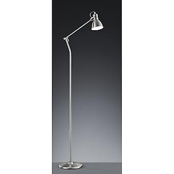 Trio Lighting Jasper Vintage Nickel Matt Metal Floor Lamp