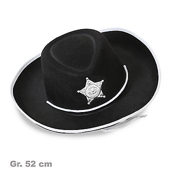 Cowboyhat Sheriff Hat ville vesten Sheriff.