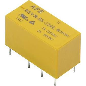 AFE BSVR-SS-205L PCB relay 5 V DC 2 A 2 change-overs 1 pc(s)