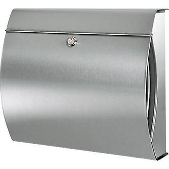 Burg Wächter 32500 VERONA 3844 ES Letterbox Stainless steel Silver Key