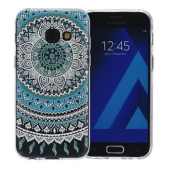 Hennè cover per Samsung Galaxy S9 + custodia protettiva in silicone blu sole