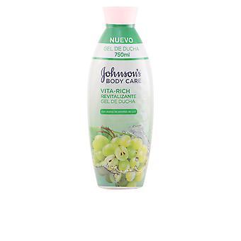 Johnson's Baby Vita-rich Revitalizante Uvas Shower Gel 750 Ml Unisex