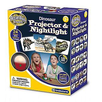 Burzy mózgów zabawki dinozaurów projektor & lampka nocna
