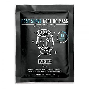 Barber Pro Post Shave Cooling Mask - Single