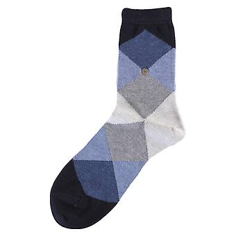 Chaussettes Burlington Bonnie - marine/Dark Grey/Light Grey