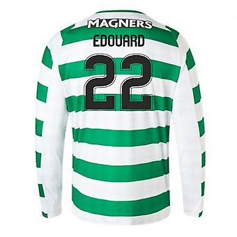 2018-2019 Celtic Home Langarm-Shirt (Edouard 22)