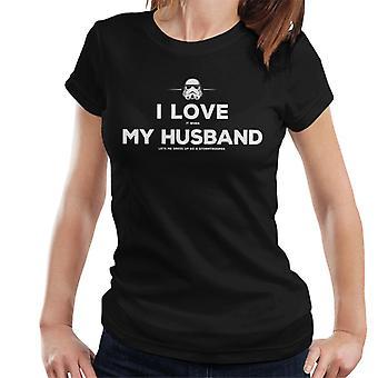 Original Stormtrooper Husband Lets Me Dress Up Women's T-Shirt